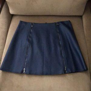 BCBGMaxazaria leather skirt